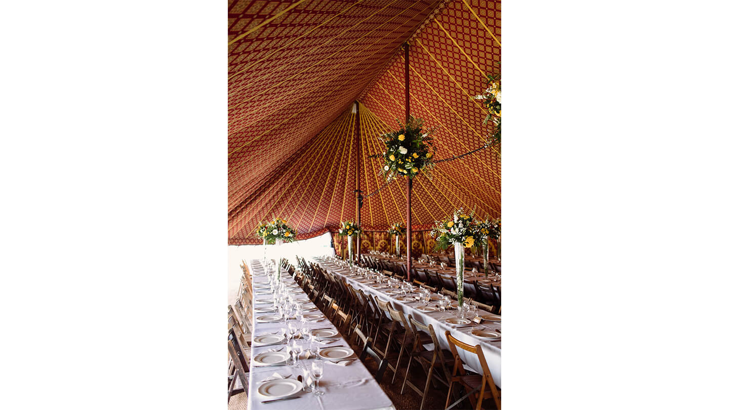 Creative Wedding Tents